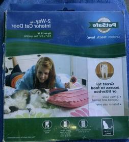 PetSafe Interior 2-Way Locking Cat/Dog Door White New Pet Do