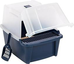 IRIS USA, Inc. IRIS Large Split-Hood Litter Box with Scoop a