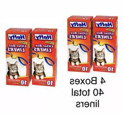 Hefty Jumbo Cat Litter Box Liners 10 count
