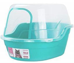 Petphabet Covered Litter Box, Jumbo Hooded Cat Litter Box Ho