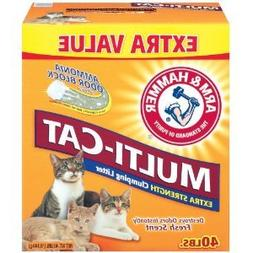 ARM & HAMMER KITTY LITTER MULTI CAT 40 LB