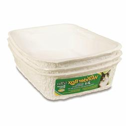 Kitty's WonderBox Disposable Litter Box, 3 Pack
