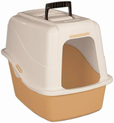 22027 hooded litter pan