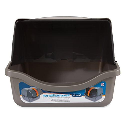 Petmate 22793 Retracting Litter Pan,