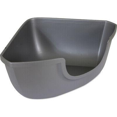 42104 corner open litter pan