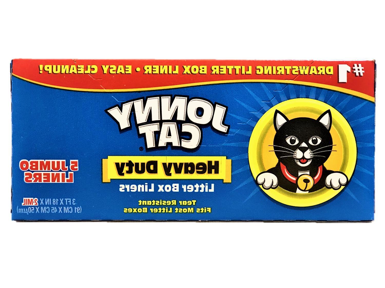 Jonny Cat DUTY BOX LINERS JUMBO Tear Resistant MOST BOXES