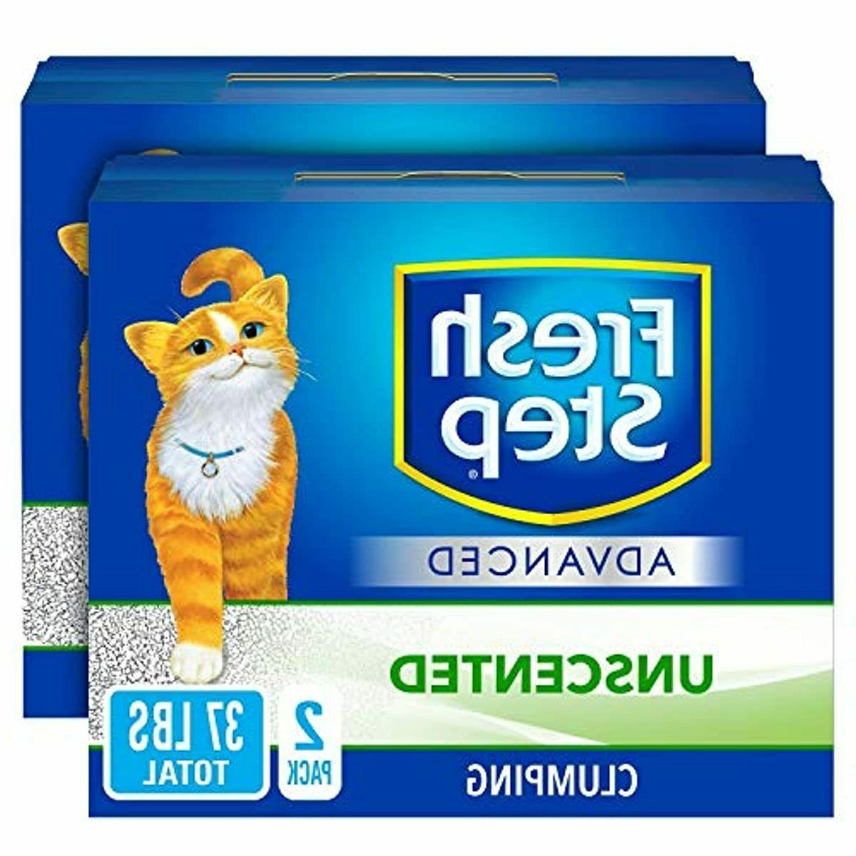 advanced clumping cat litter with activated charcoal