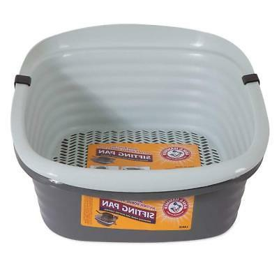 Arm & Hammer Large Sifting Kitty Standard Litter Pan Box Cat