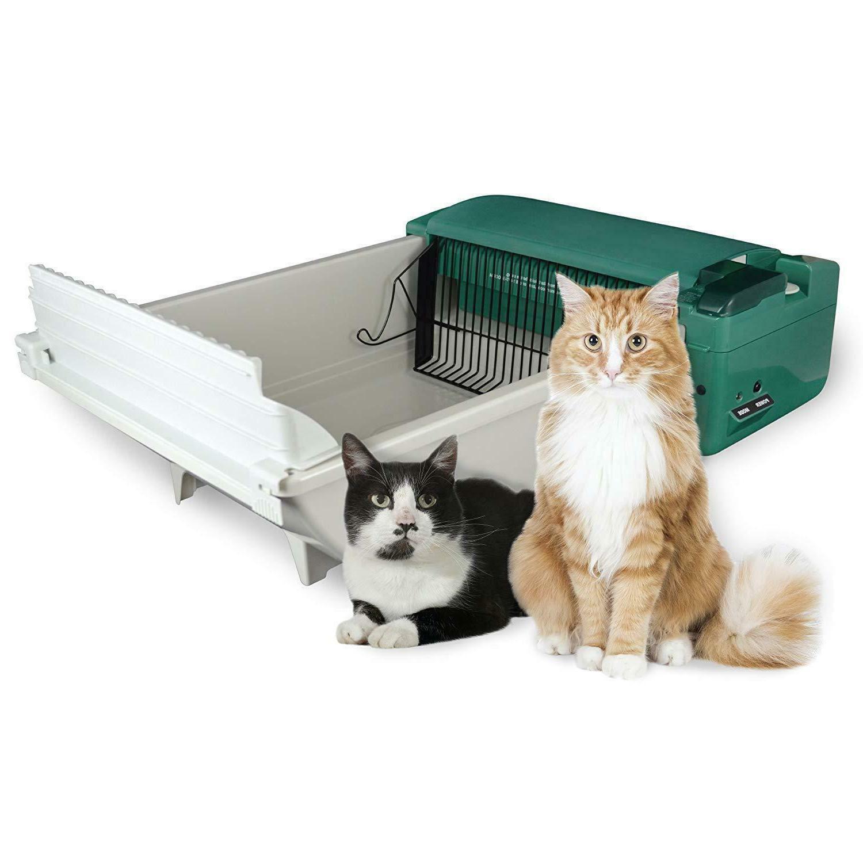 Automatic Cat Box Pet Smart Scoop Feline Supplies Unit