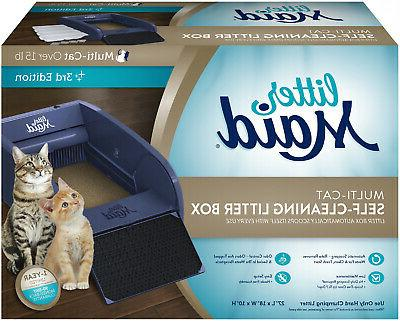 Littermaid Automatic Self Cleaning Litter Box Cat Pet Kitty