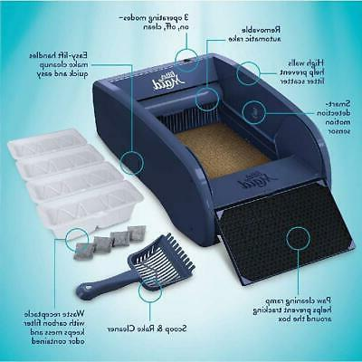 Multi Cat Self Cleaning Litter Box With Automatic Scooping R
