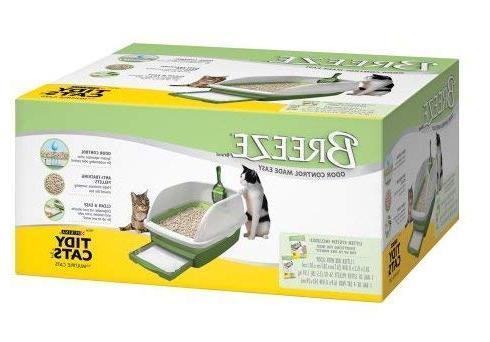 breeze anti tracking pellets litter