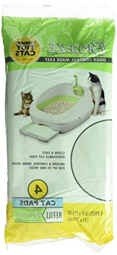 "Sale Tidy Cat BREEZE Refill Pads 16.9"" X 11.4"" -"