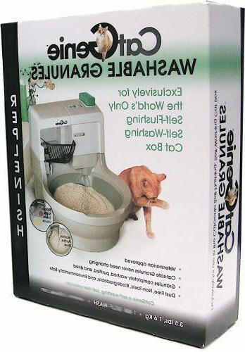 cat genie washable granules for self washing