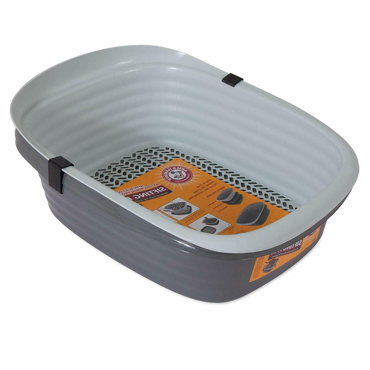 Cat Litter System Box Clean Container Tray