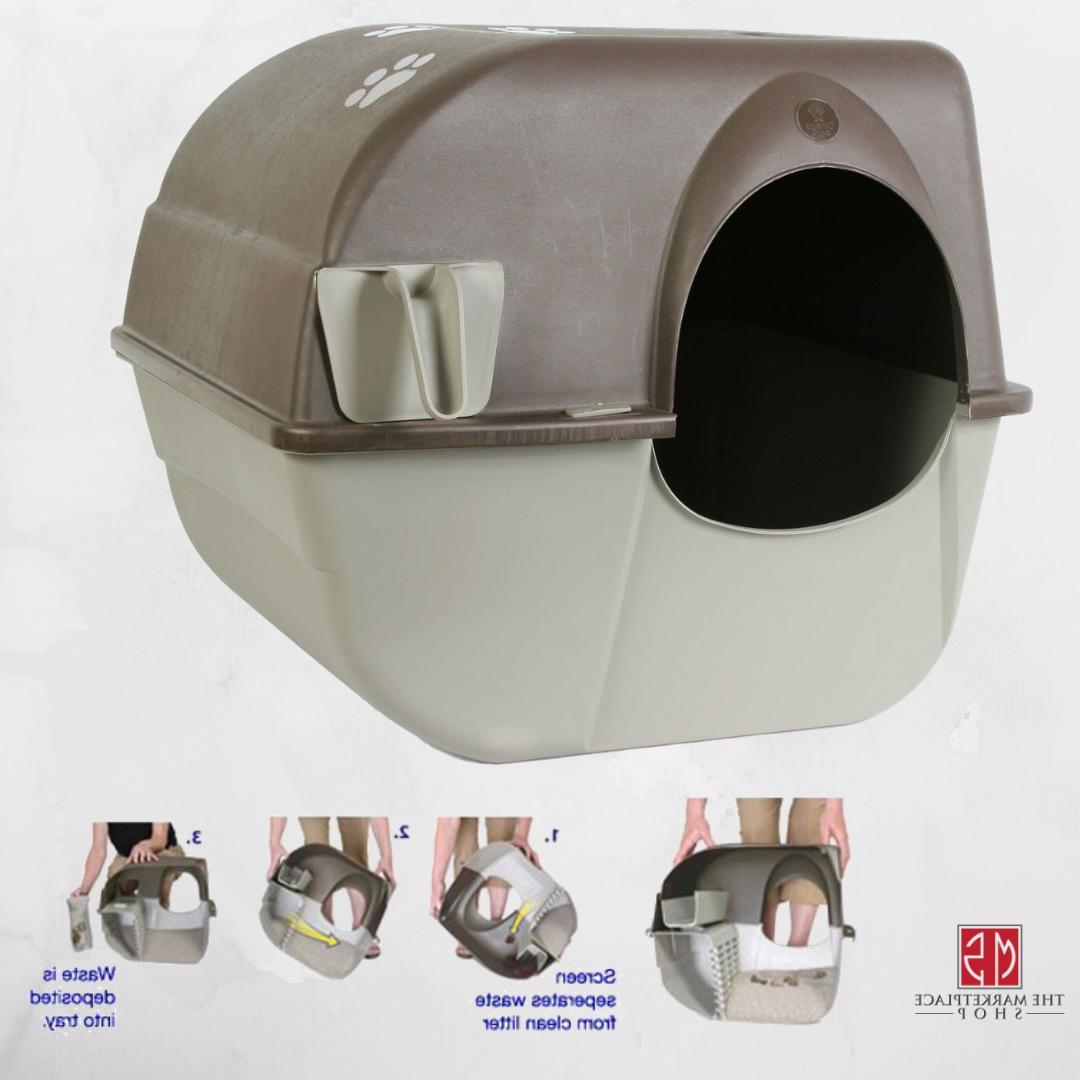 cat litter box portable indoor kitty potty
