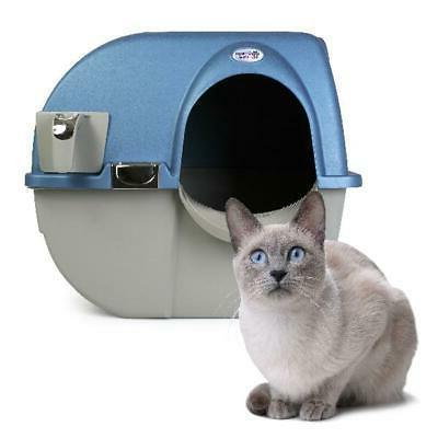 Cat Box Omega Roll 'n Self Chrome Accent