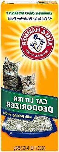 Arm & Hammer Cat Litter Deodorizing Powder, 30-Ounces each