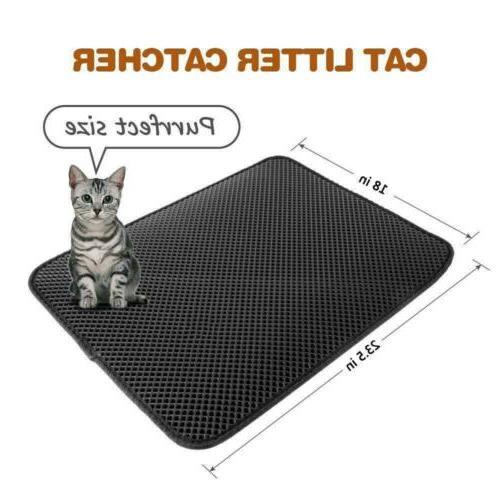 Cat litter Double Pad Foldable Pad Rug EVA Foam
