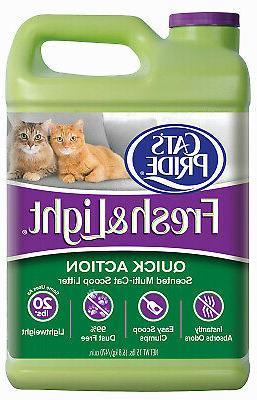 cat litter multi cat scoopable 15 lbs