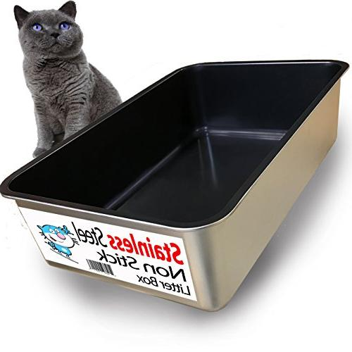 cat litter non easy clean