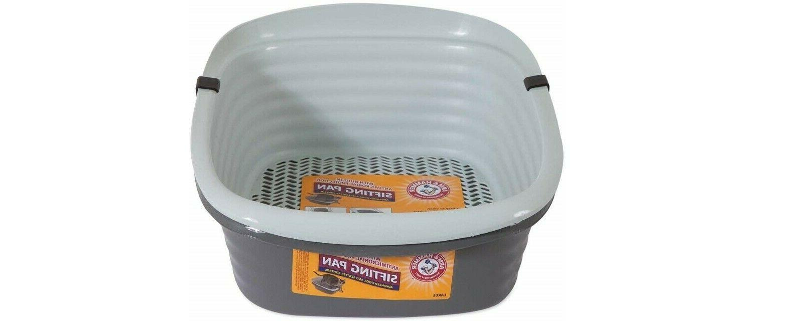 Cat Pan Slotted Tray 3 Part