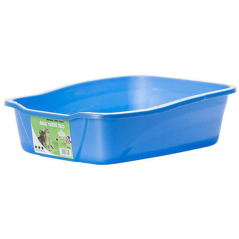 cat litter pan unbreakable high impact plastic