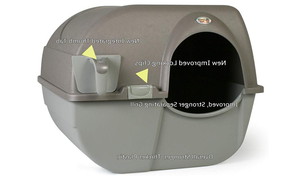 Cat Litter Self Cleaning Box Automatic Pan Lid Cover Multipl