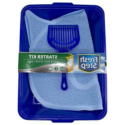 Scoop Kitty Litter Cleaning Supplies Litter Box Fresh Step Cat Litter Cleanup Kits and Supplies Trapper Keeper Mat