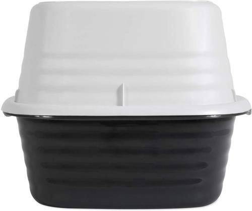 Cat Pan Box Tray Rimmed Litter Toilet