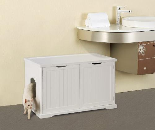 Merry Products Bench, White