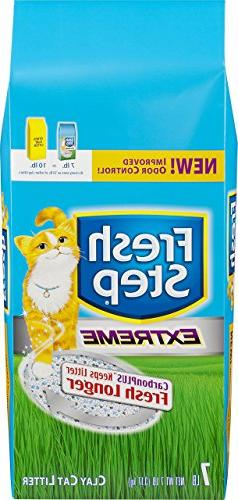 Fresh Step Scented Non-Clumping Clay Cat Litter, 7 Pounds