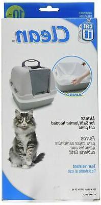 Catit Clean Biodegradable Liners, Jumbo 10ct