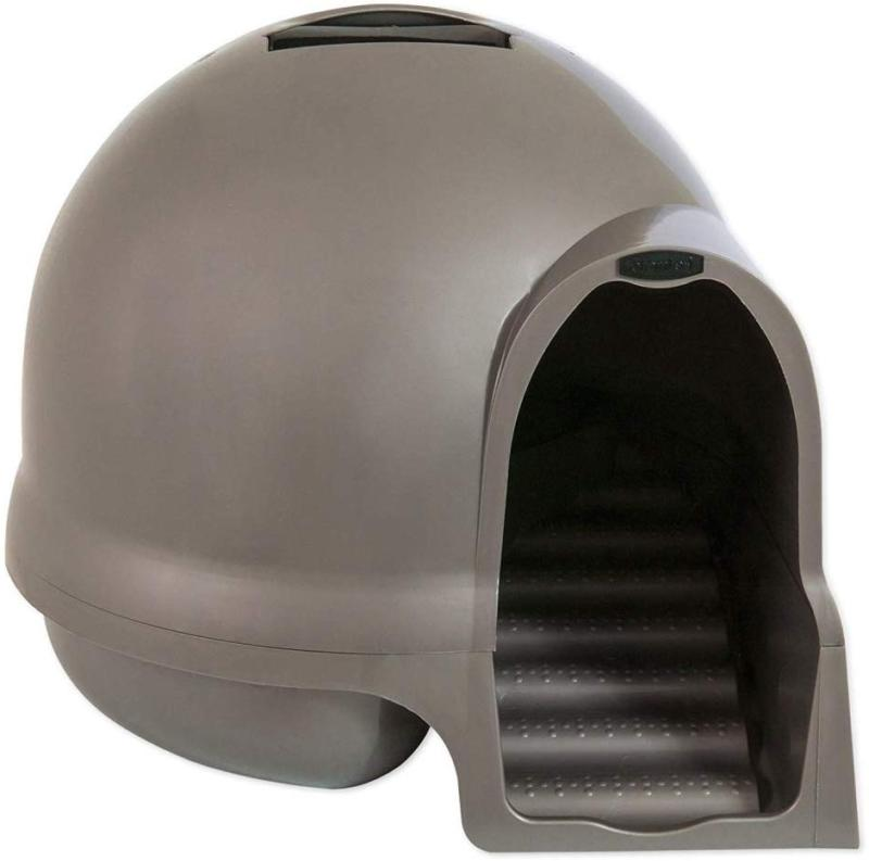 clean step litter dome