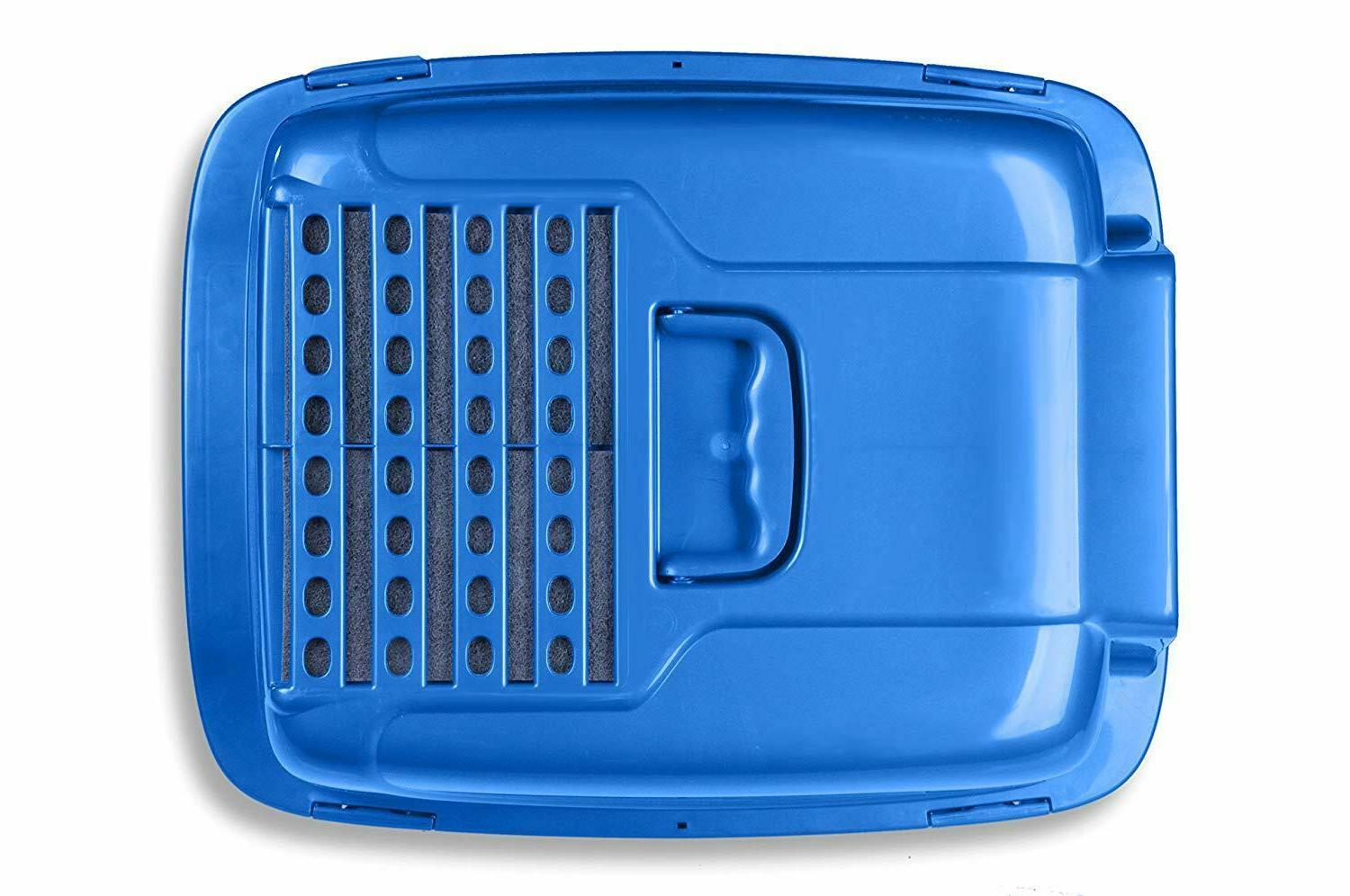 Covered Cat Box Odor Enclosed with Odor