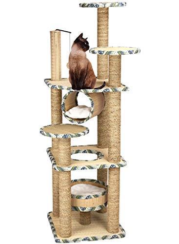 crinex pet seaweed rope cat