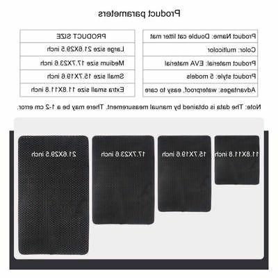 Double-Layer Box Mat Pad Pet Rug