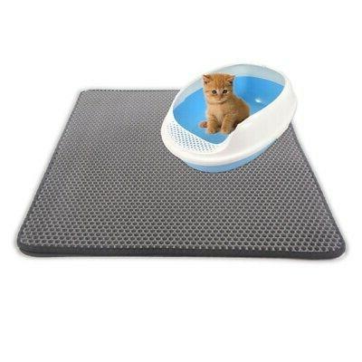 USA Double-Layer Cat Litter Box Pad Foam Rubber