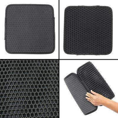 Double-Layer Waterproof Litter Trapper Pet Pad Rubber Rug