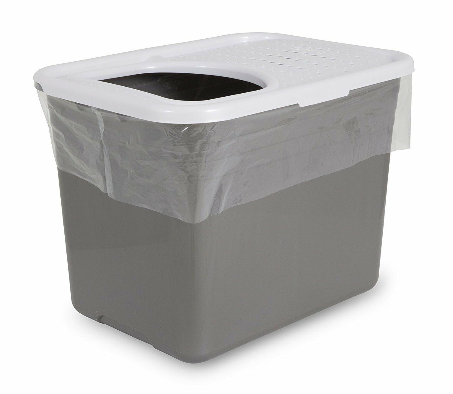 durable material litter box container pan liner