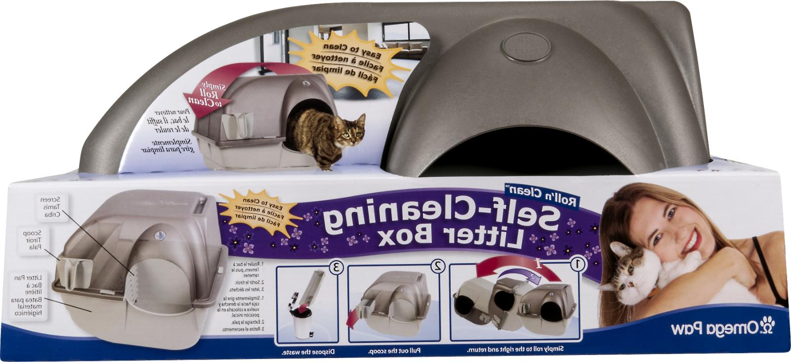 Easy SELF CLEANING Automatic Cat Litter Pull Pet Regular