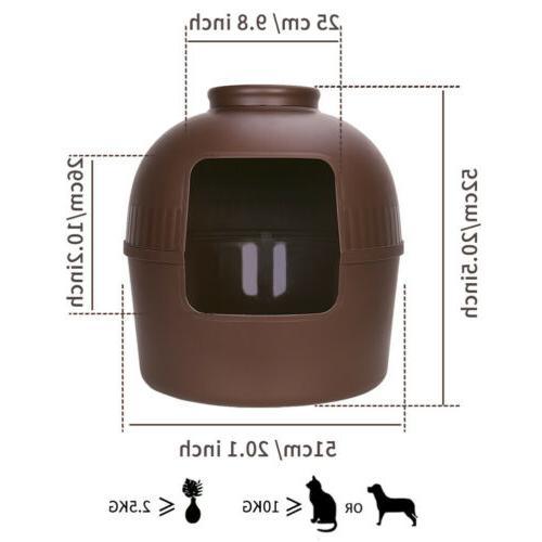 Extra Litter Pet Cave Plant Pot