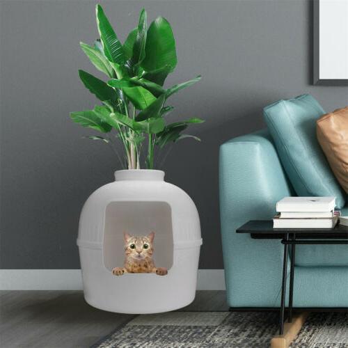 Extra Large Hidden Litter Box Bed Cave Decorative Plant Pot