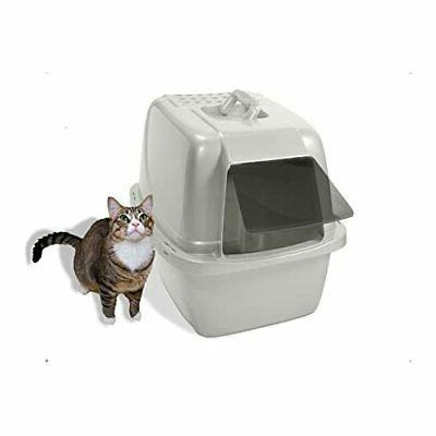 Extra Box Enclosed Sifting Hooded Kitty House