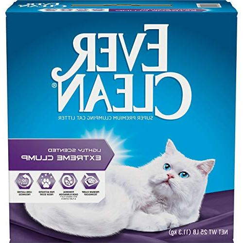 Ever Clean Extreme Clumping Litter, Scented, 25