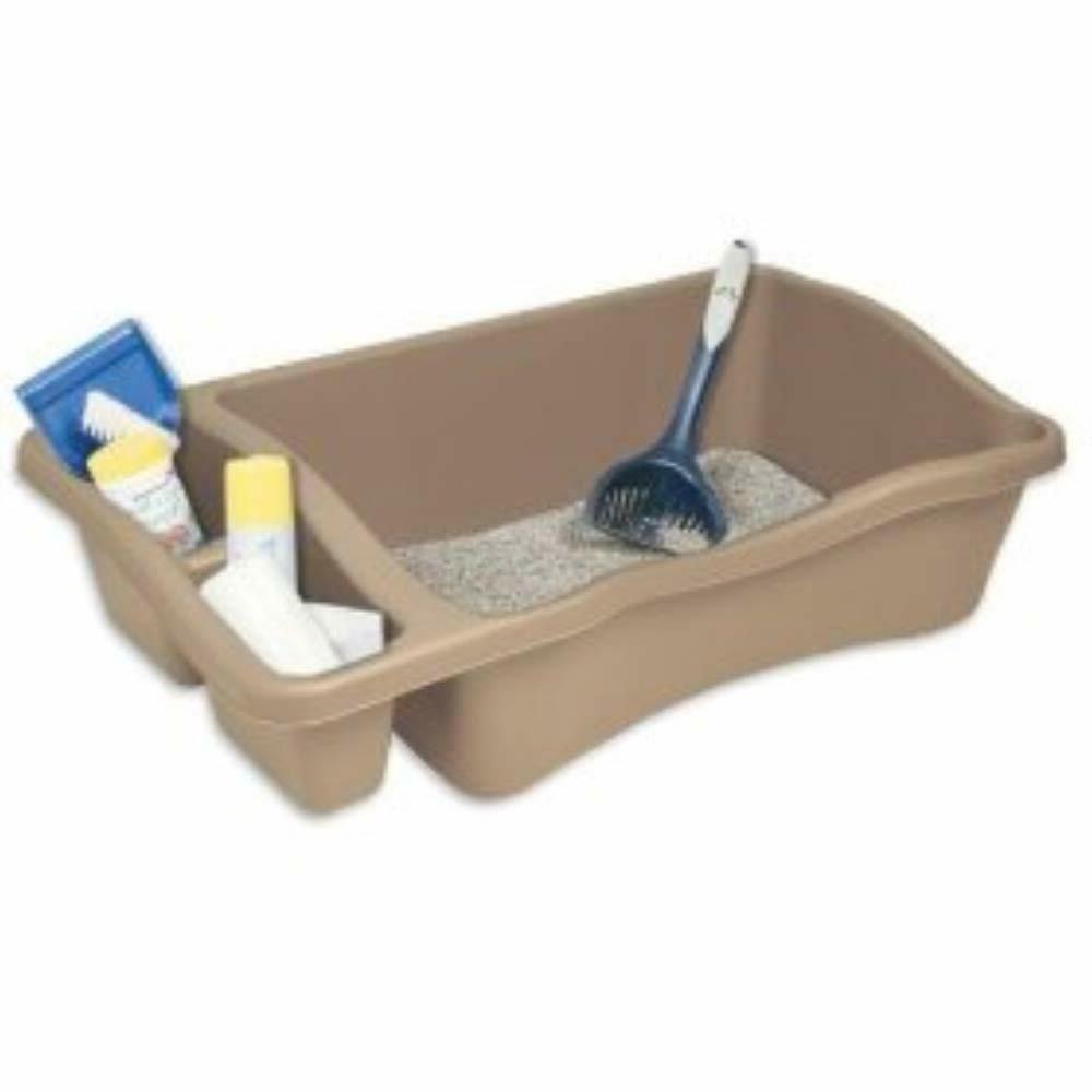giant litter pan for cat easier to