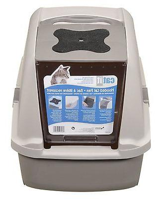 Catit Cat Litter Pan Large Kitty Box Big Cover Pound Easy