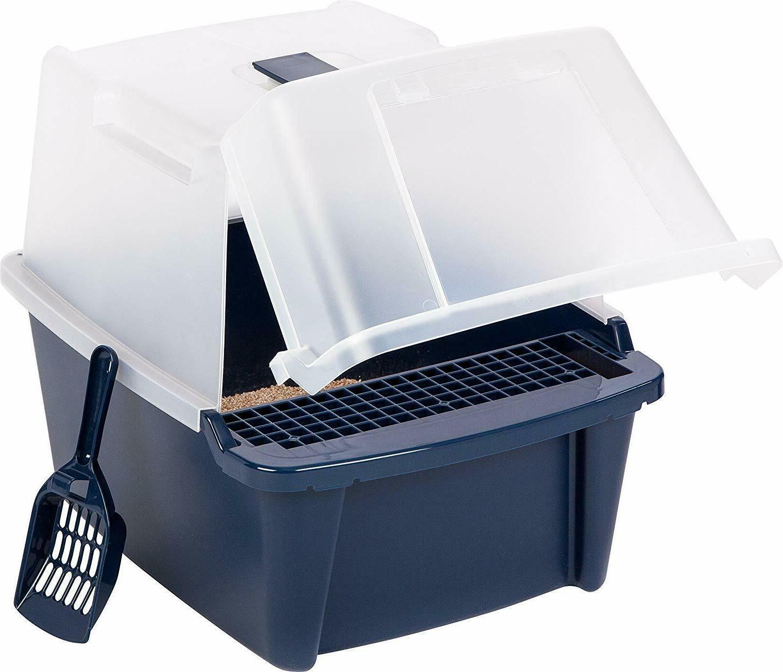 cat litter box covered tray kitten extra