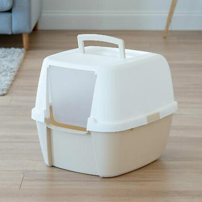 iris usa inc jumbo hooded litter box