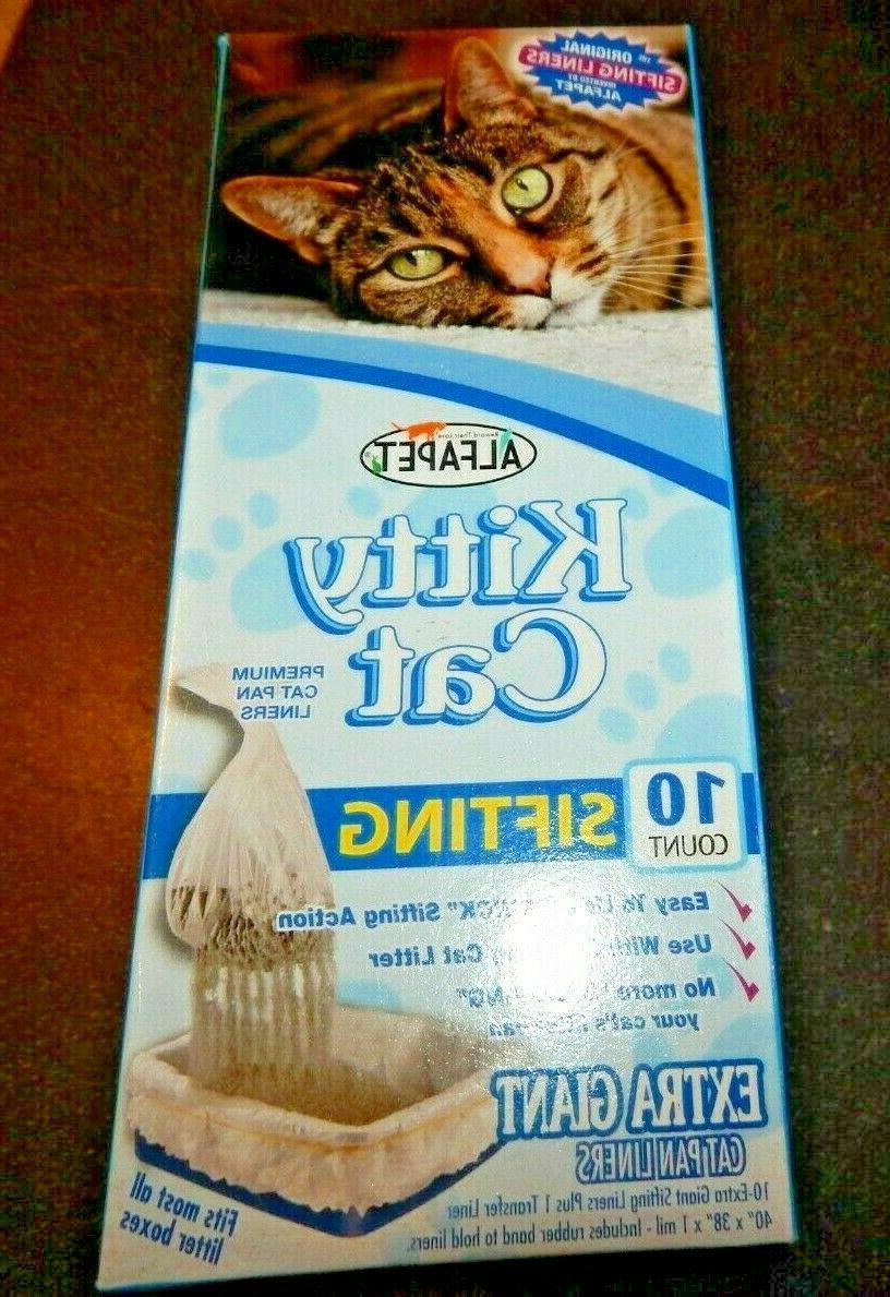 kitty cat 10 count sifting extra giant